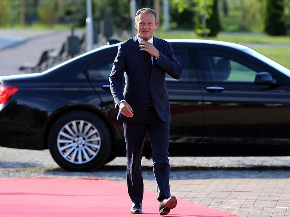 Gipfelchef Tusk kritisierte US-Präsident Trump scharf