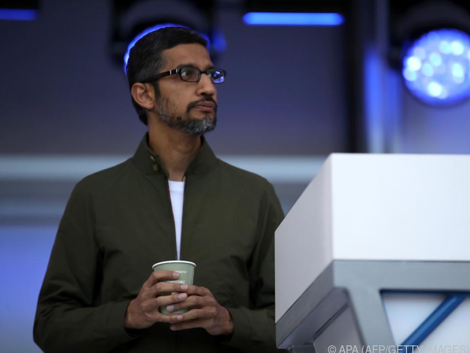 Google-Chef Sundar Pichai zeigte vollautomatische Anrufe des Google Assistant
