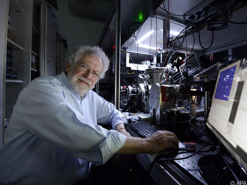 Große Ehrung für Quantenphysiker Anton Zeilinger