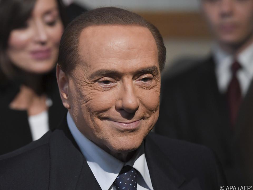Gute Nachrichten für Ex-Premier Berlusconi