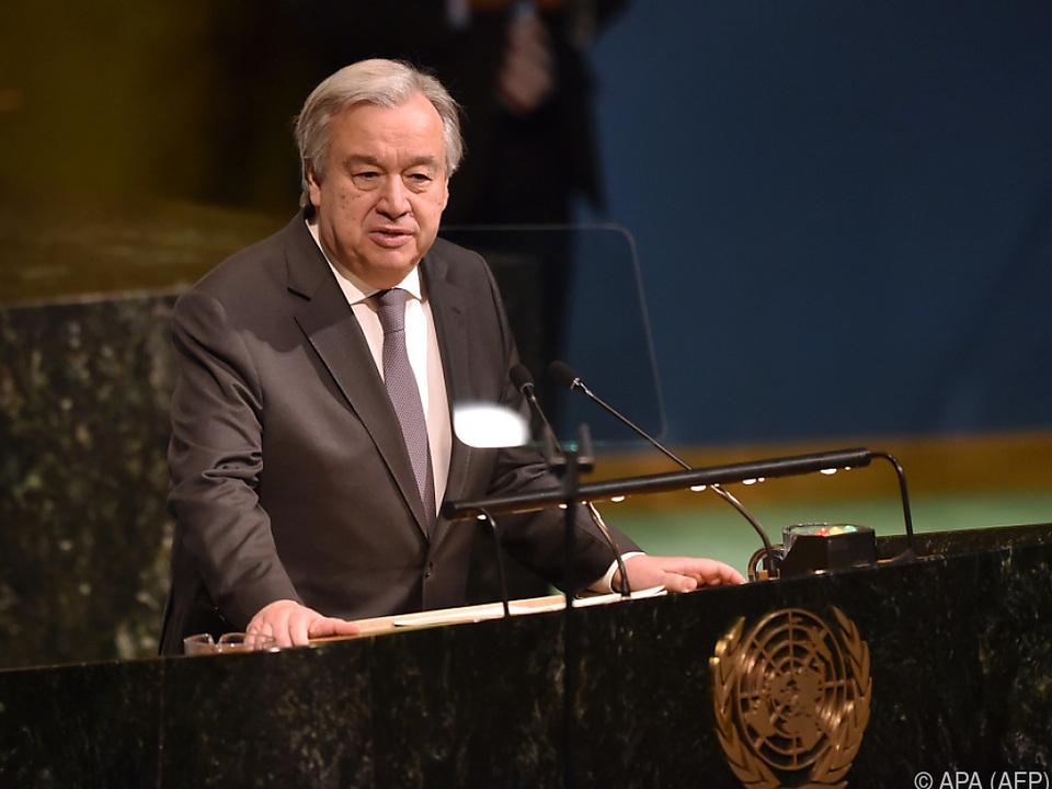 Guterres will sexuelle Übergriffe innerhalb der UNO ausmerzen