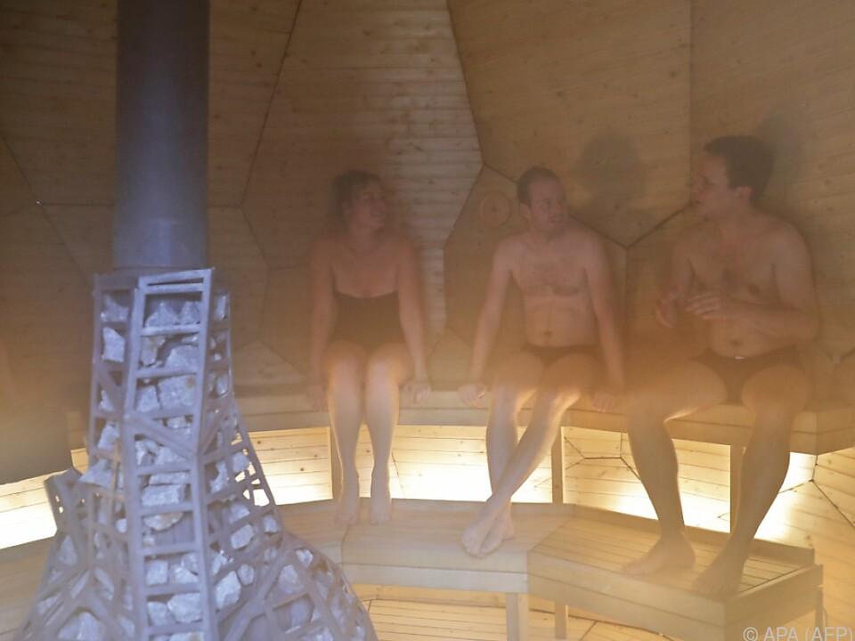 sauna Häufiges Saunieren ist gesund