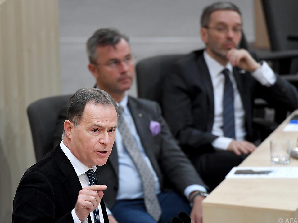 Hannes Jarolim thematisierte auch Auslieferungen an andere Länder
