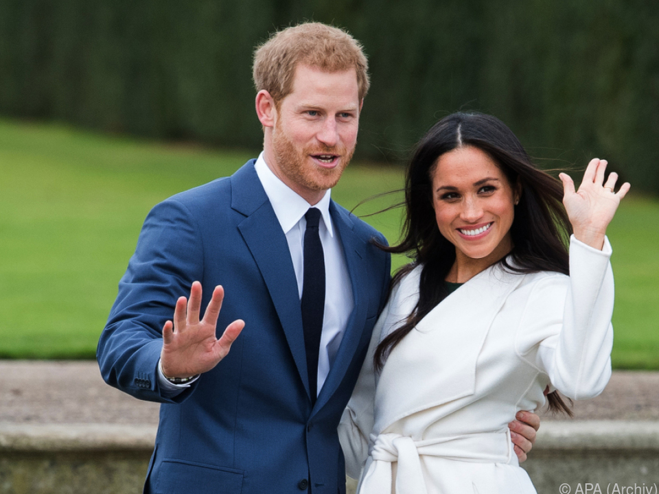 Harry und Meghan heiraten am 19. Mai auf Schloss Windsor