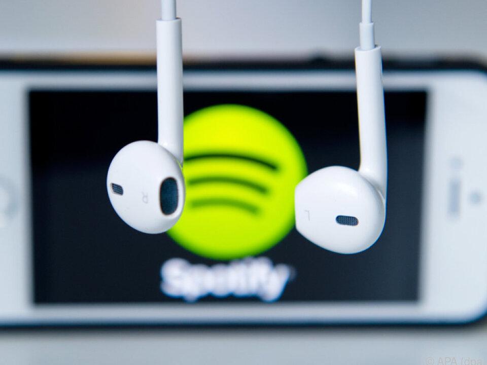 Harte Zeiten für Spotify