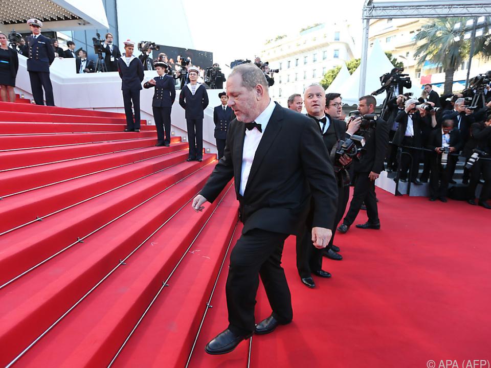 Harvey Weinstein hinterließ seine Spuren in Cannes