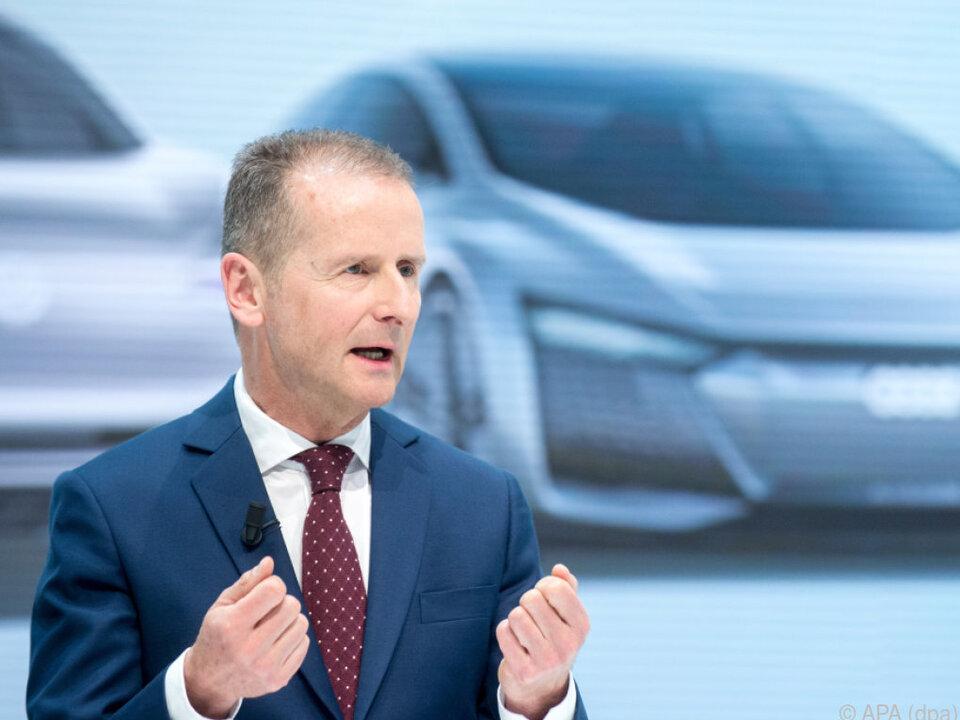 Herbert Diess beschwört Kulturwandel bei VW