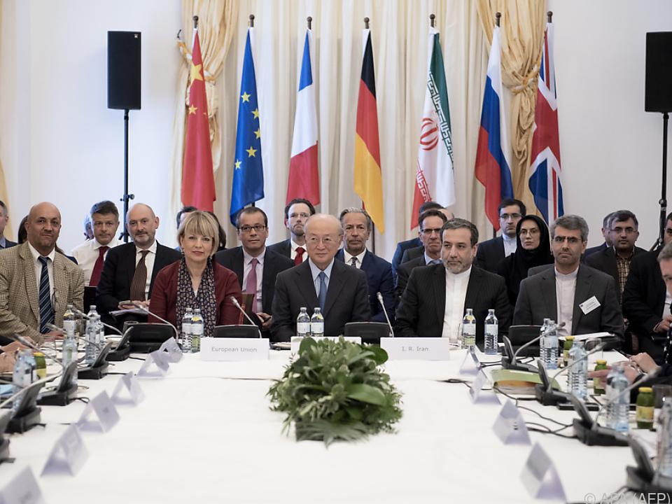 Hochrangiges Treffen im Palais Coburg in Wien