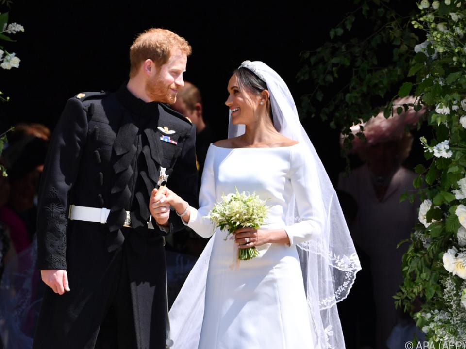 Hochzeit verzauberte die Nation