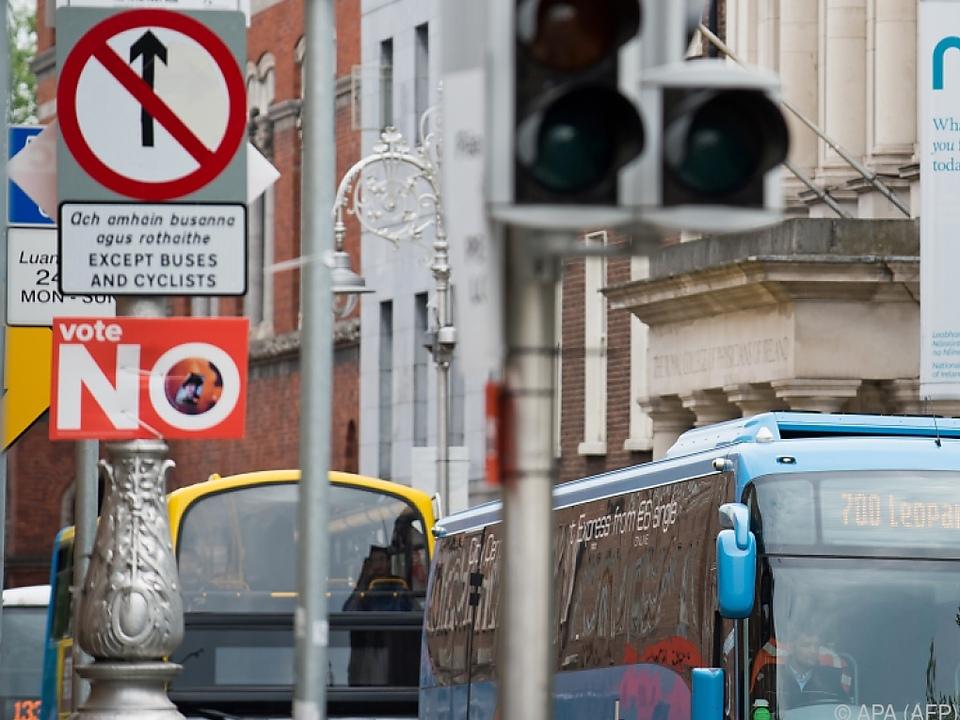 In Irland hat das Abtreibungsverbot Verfassungsrang