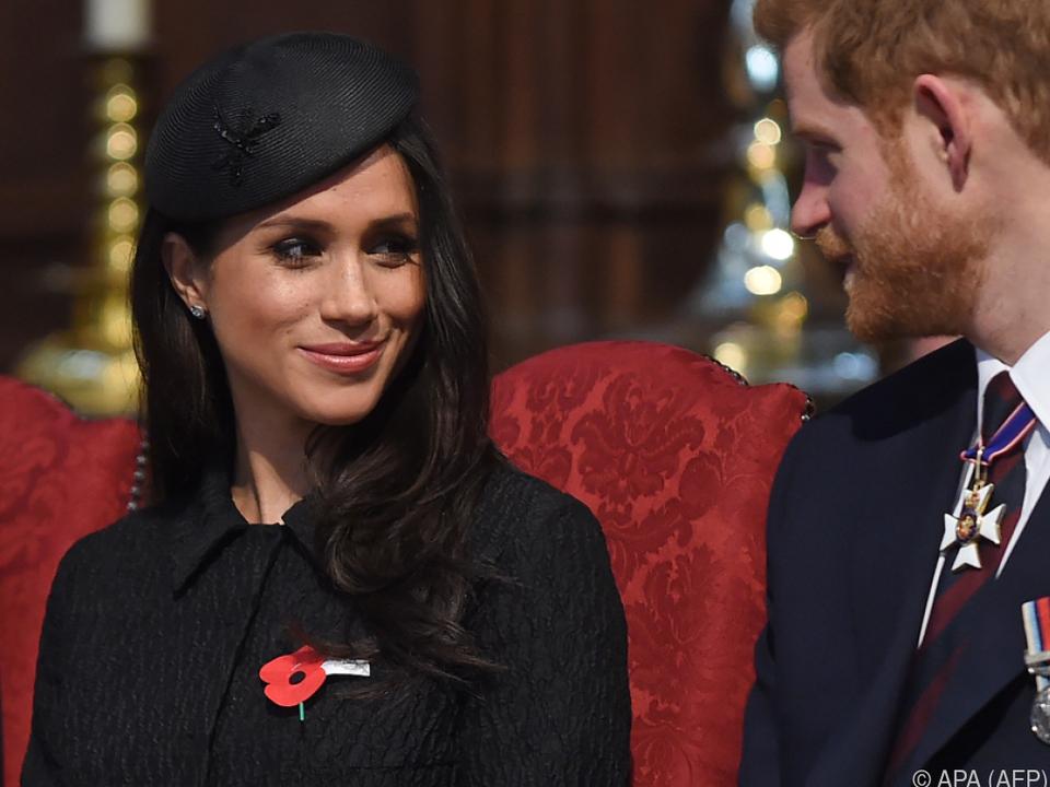 In Zukunft sind die beiden wahrscheinlich Duke und Duchess of Sussex