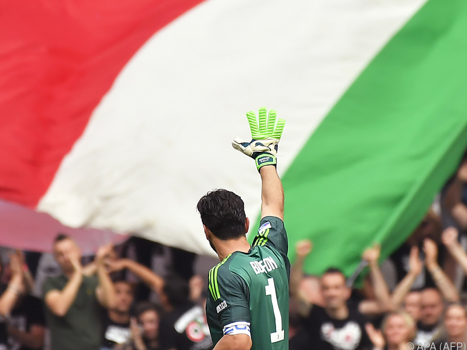 Italiens Rekord-Torhüter Gianluigi Buffon
