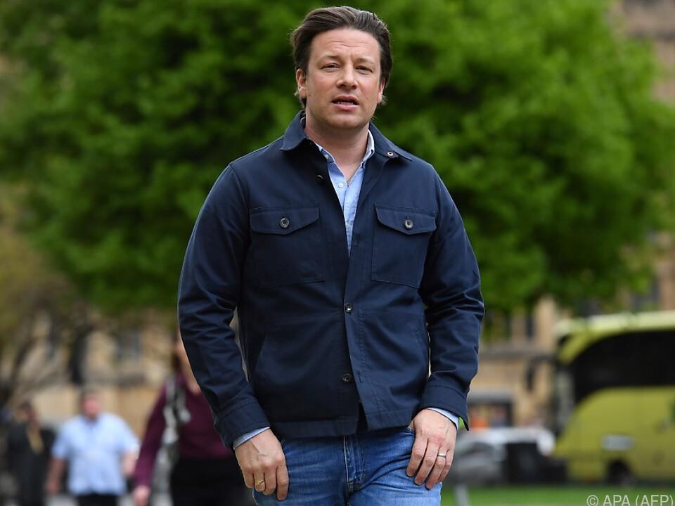 Jamie Oliver sieht sich auf einer Mission