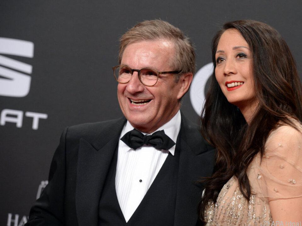 Jan Hofer und Freundin Phong Lan