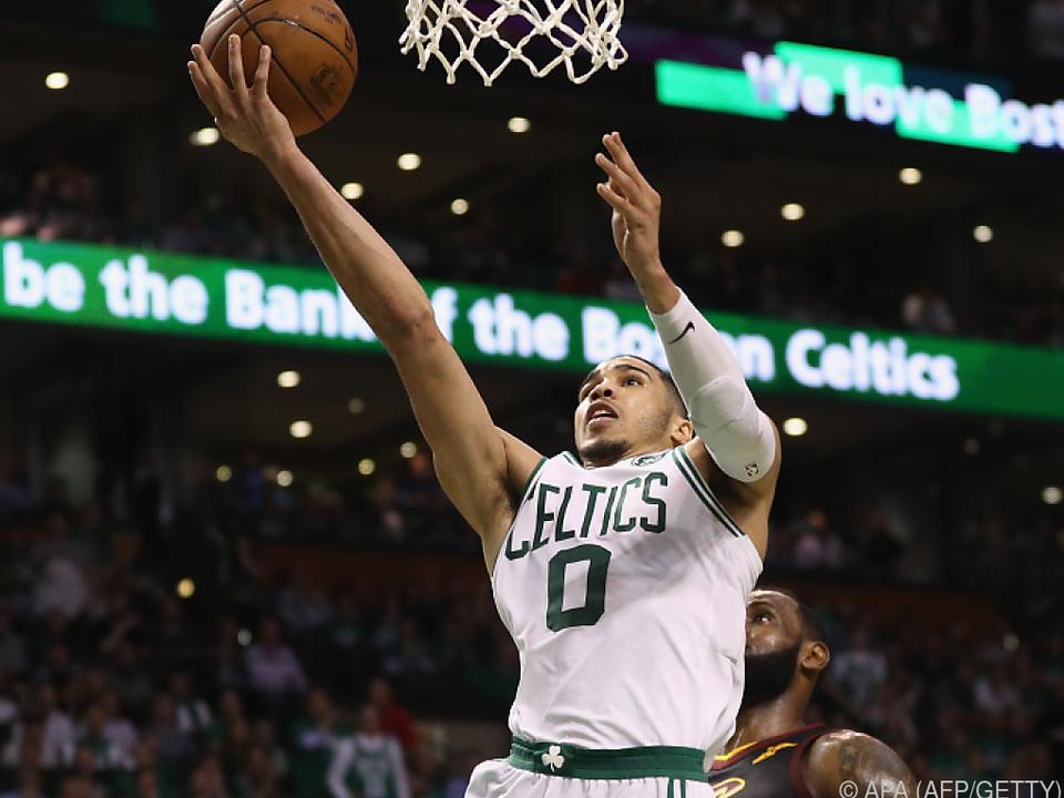 Jayson Tatum war einmal mehr Topscorer der Celtics