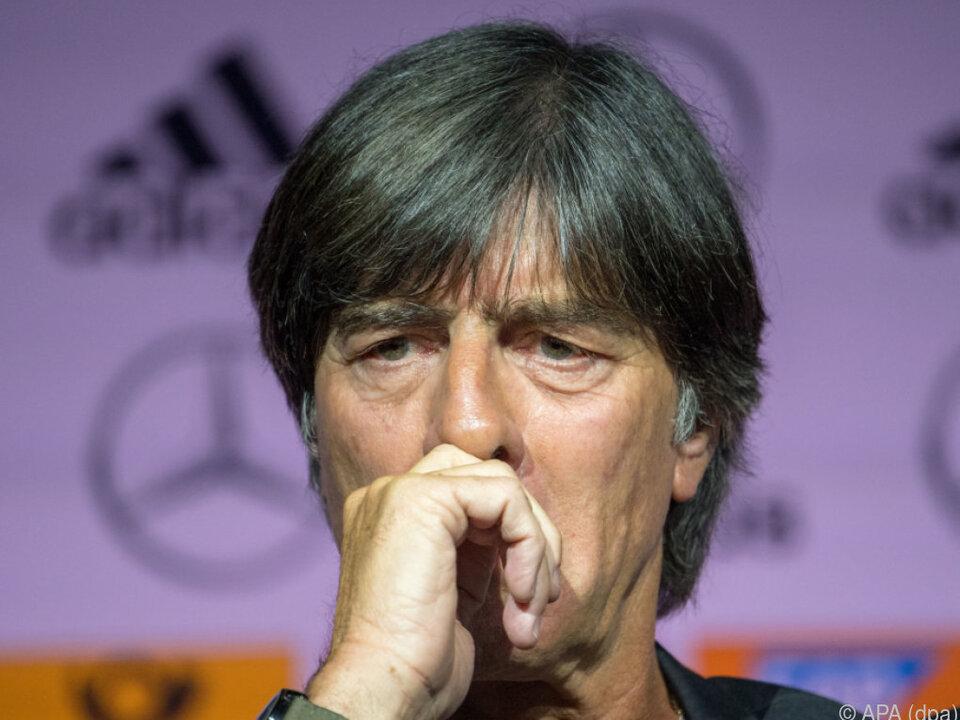 Joachim Löw sieht Aussagen als Affront gegen Spieler