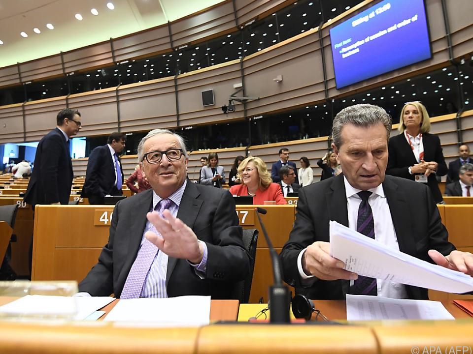 Juncker fordert für 2021 bis 2027 1.279 Mrd. Euro