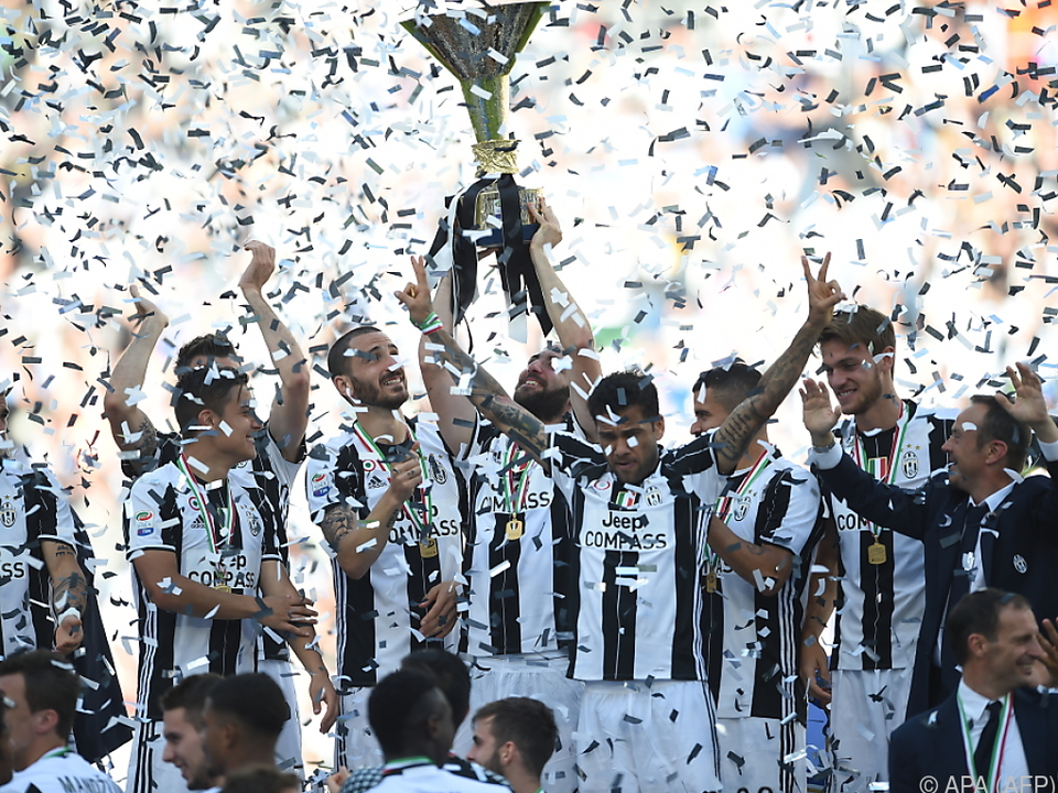 Juve plant die Meister-Party