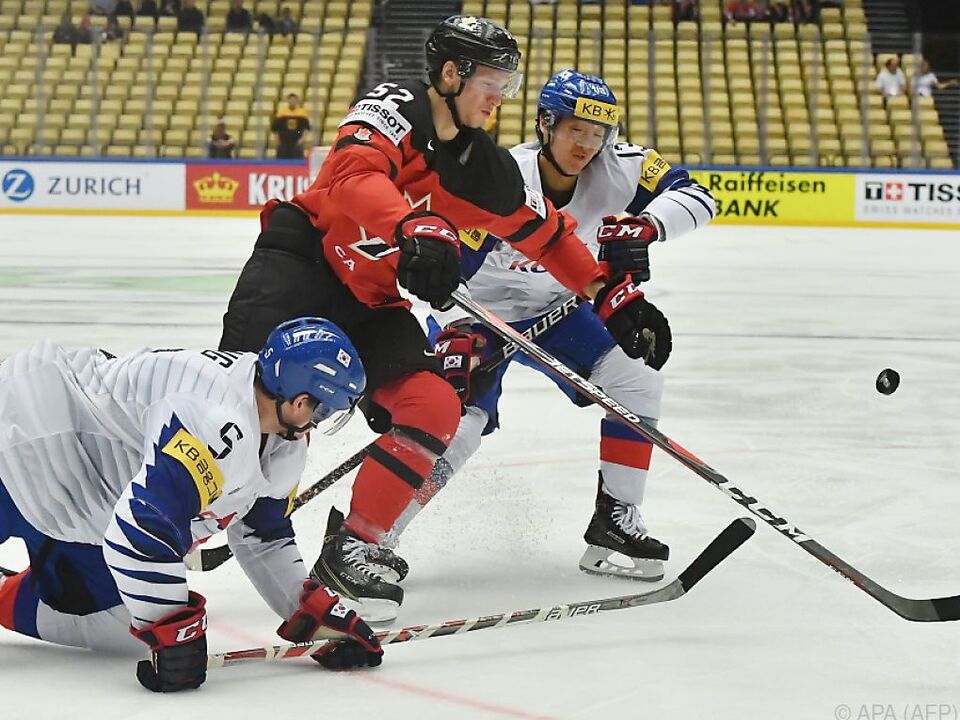 Kanada feierte ein 10:0 gegen Südkorea