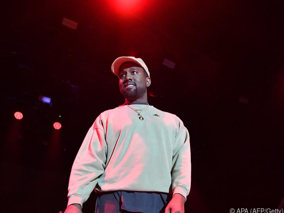 Kanye West ist ein Fan von Donald Trump
