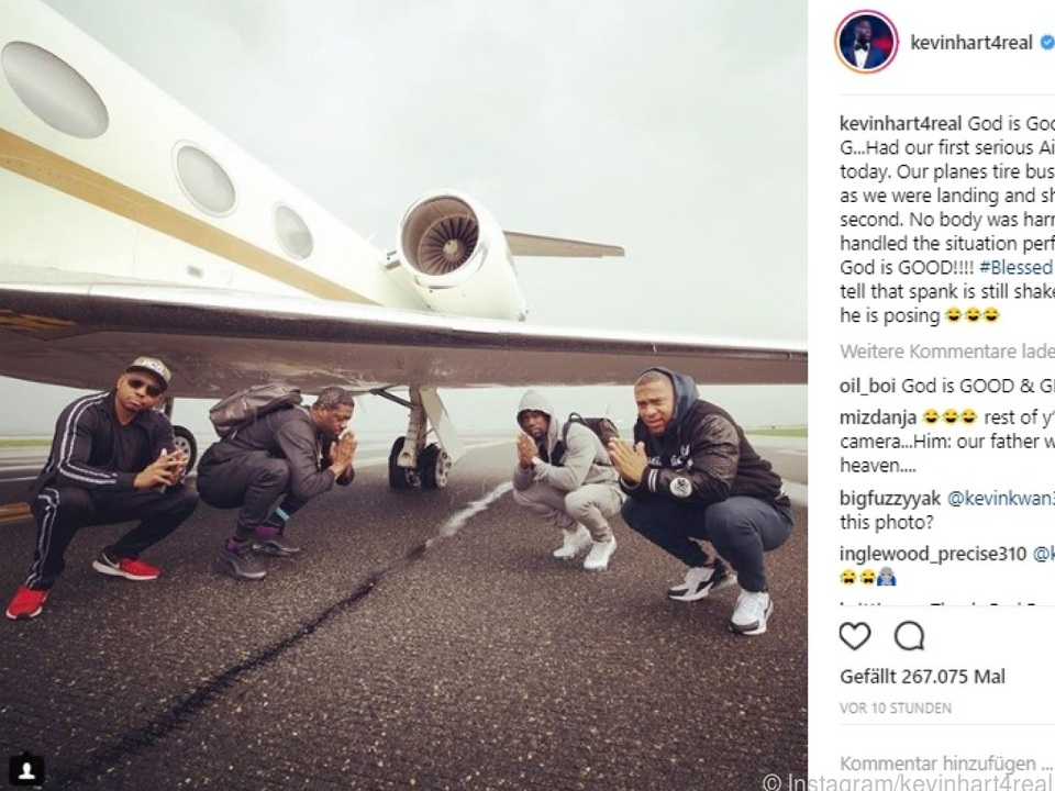 Kevin Hart postete dieses Foto auf Instagram