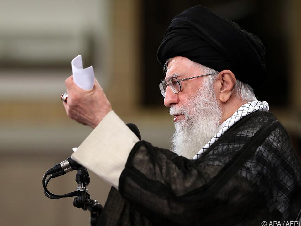 Khamenei stellt Bedingungen für Verbleib im Abkommen