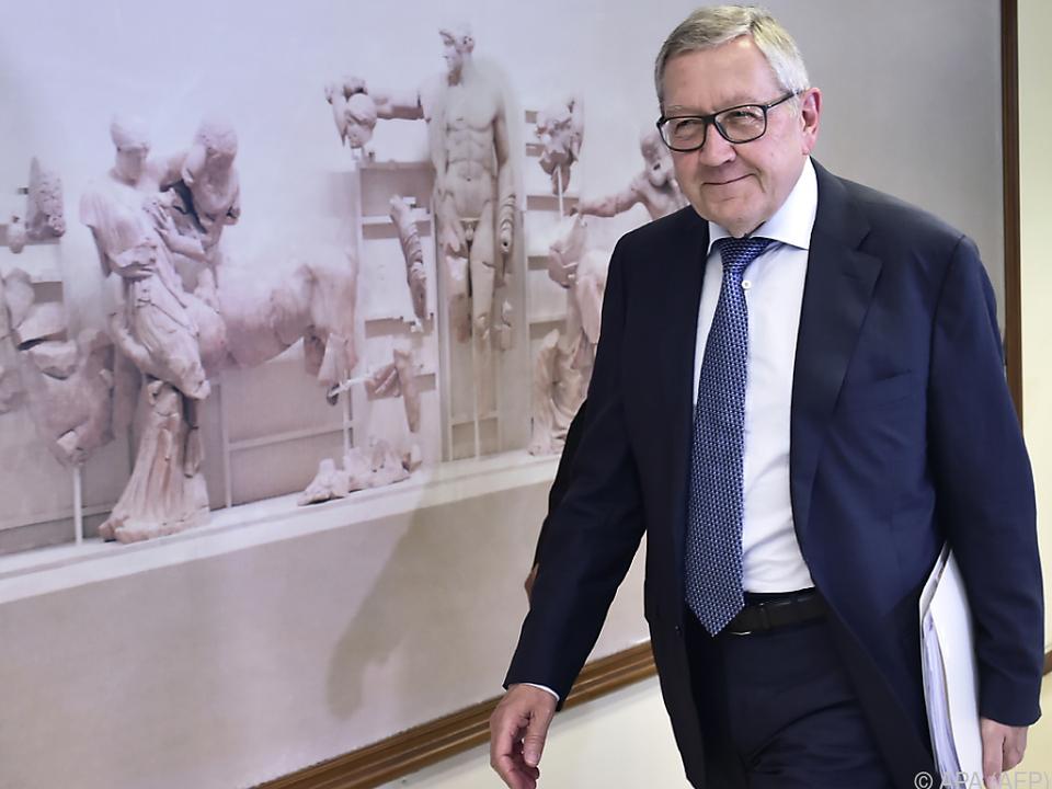Klaus Regling fordert die Vollendung der Bankenunion