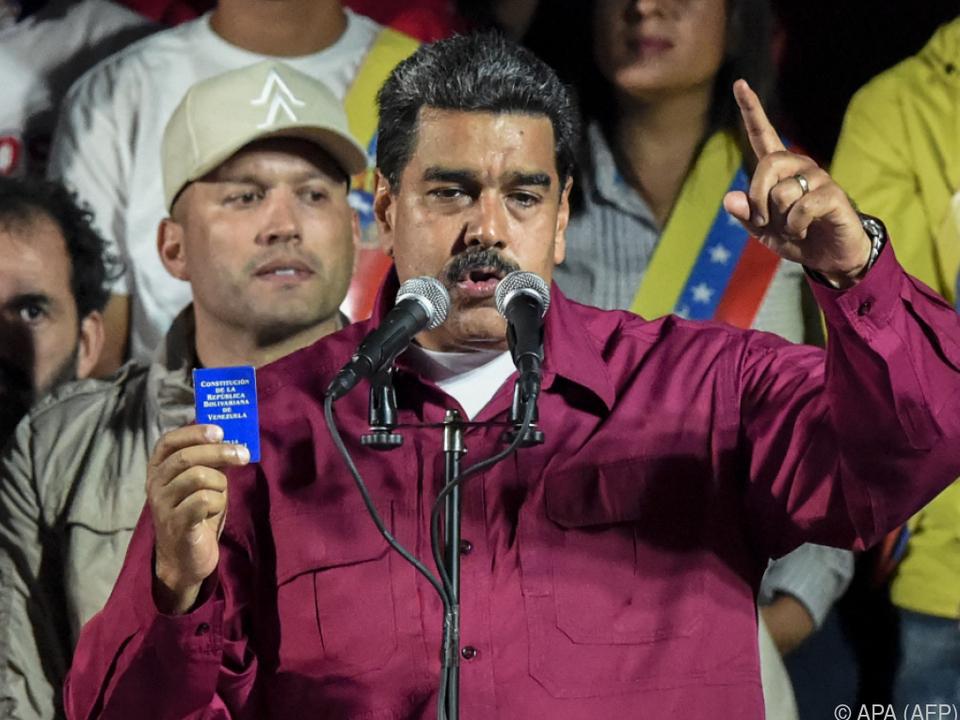 Knapp 68 Prozent der Stimmen entfielen auf Maduro