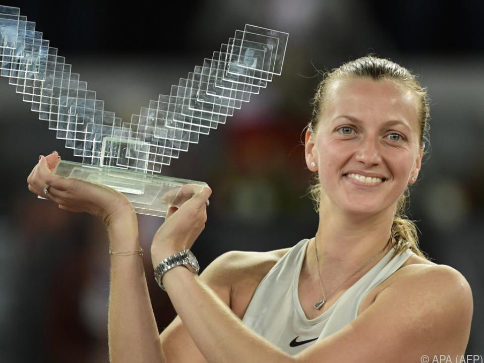 Kvitova gelang nach der Pause ein erfolgreiches Comeback