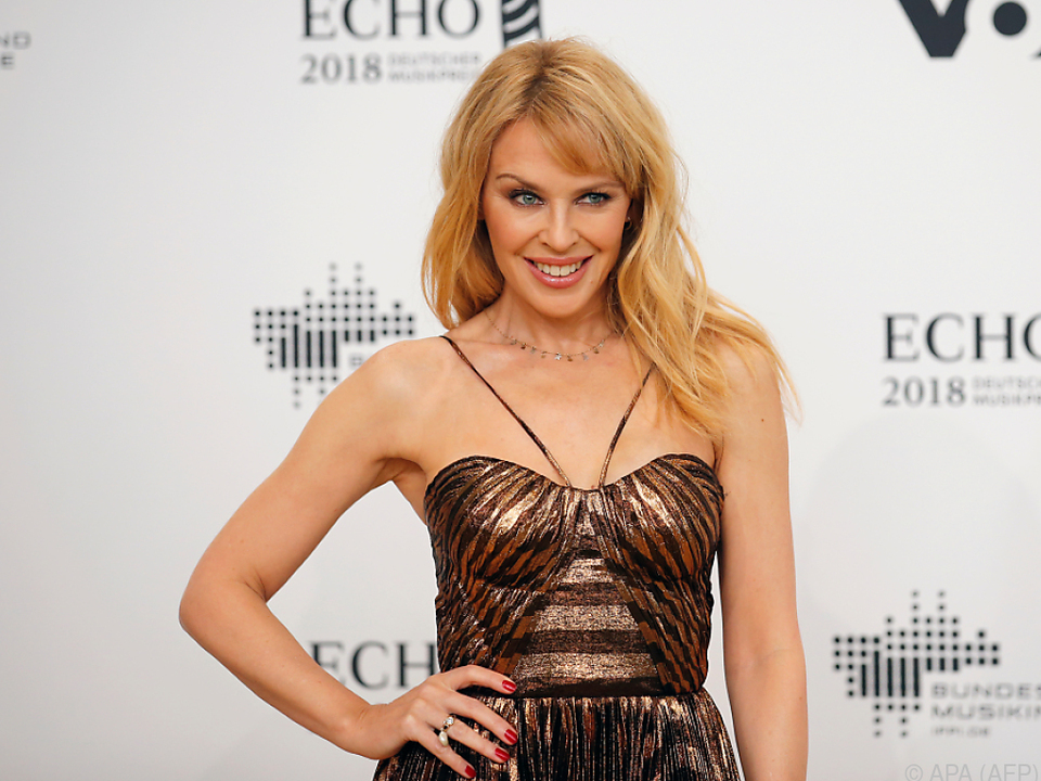 Kylie Minogue feiert den Ehrentag in London