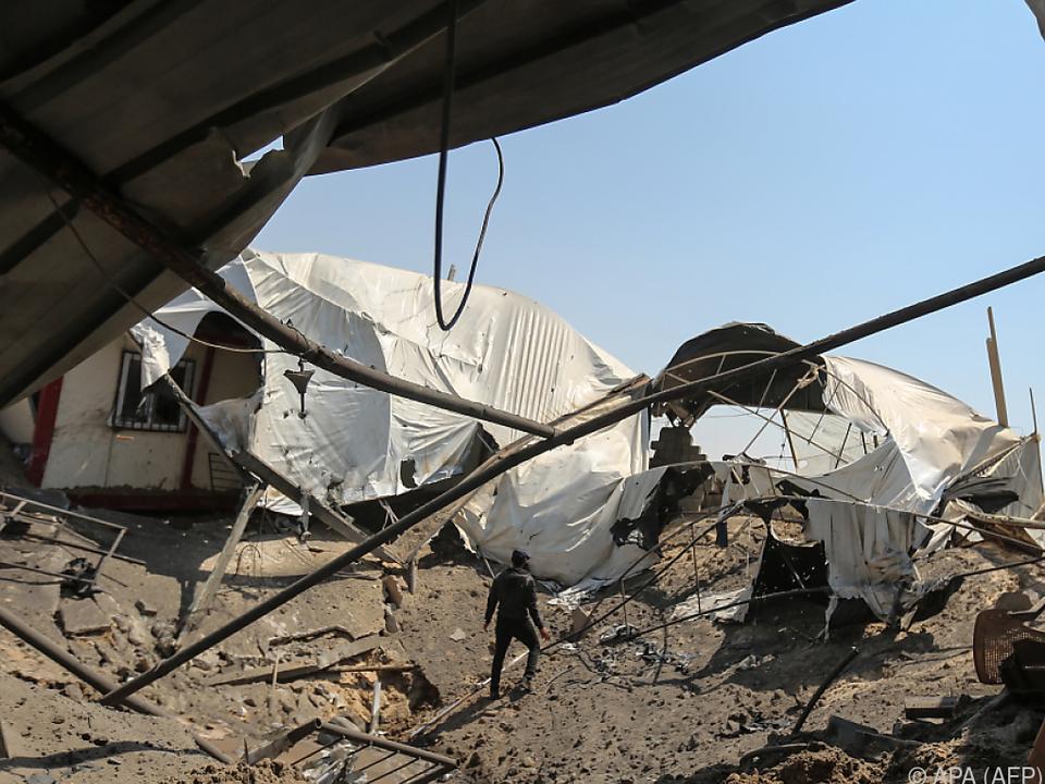 Lage in Gaza spitzt sich zu