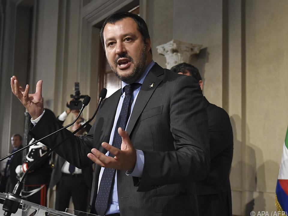 Lega-Chef Matteo Salvini will nun über Ämter sprechen