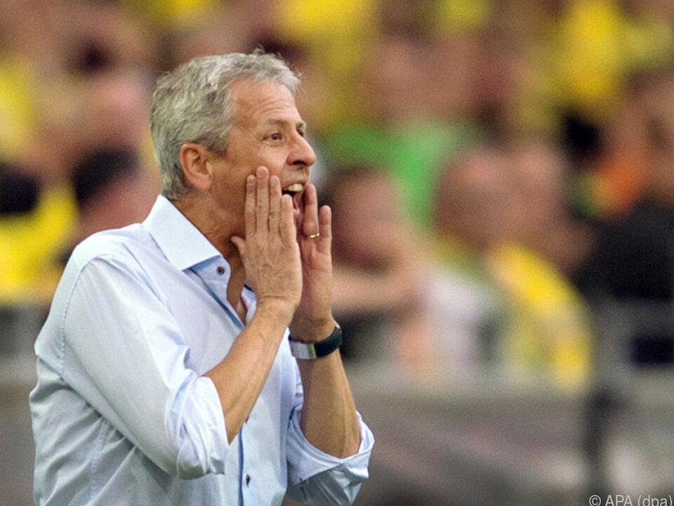 Lucien Favre war bis zuletzt in Nizza Trainer