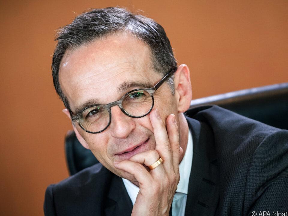 Maas: Es geht um originäre Sicherheitsinteressen