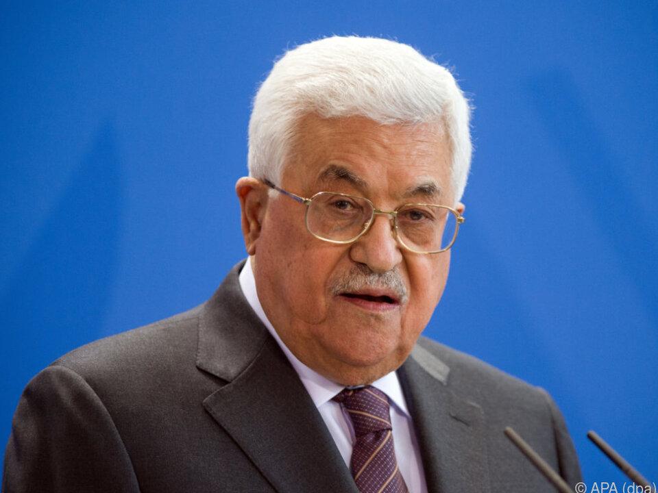 Mahmud Abbas steht seit 2004 der PLO vor