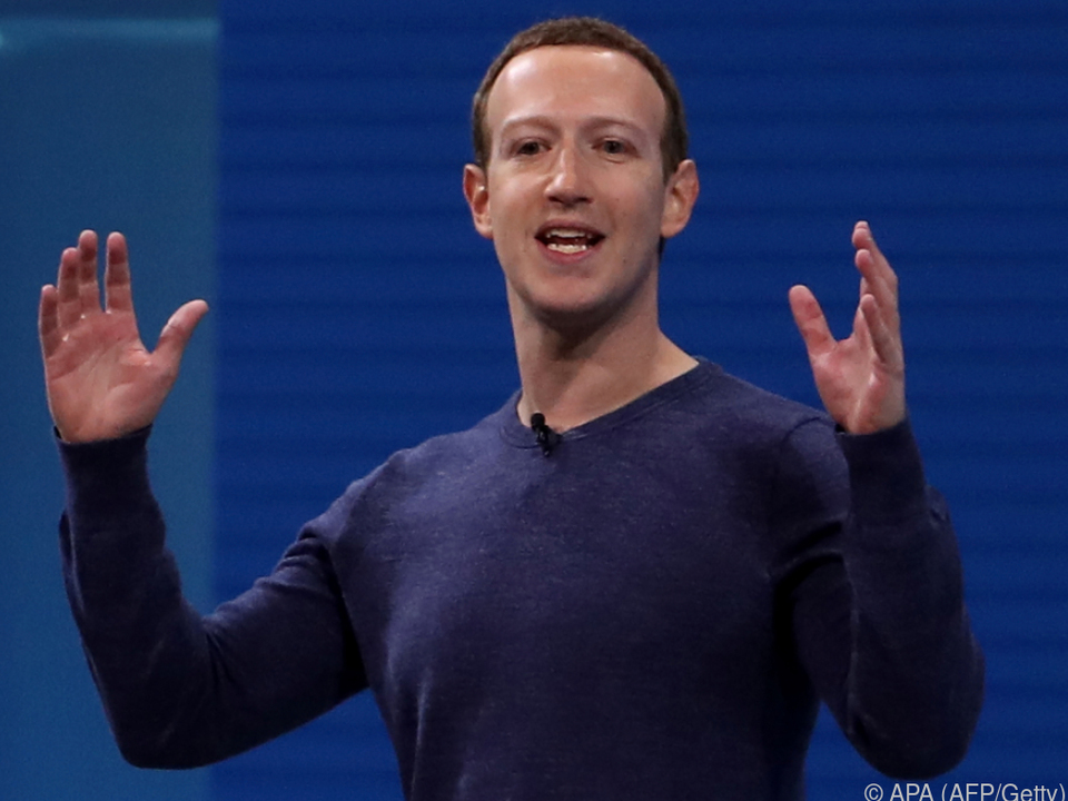 Mark Zuckerberg wird am Dienstag im EU-Parlament befragt