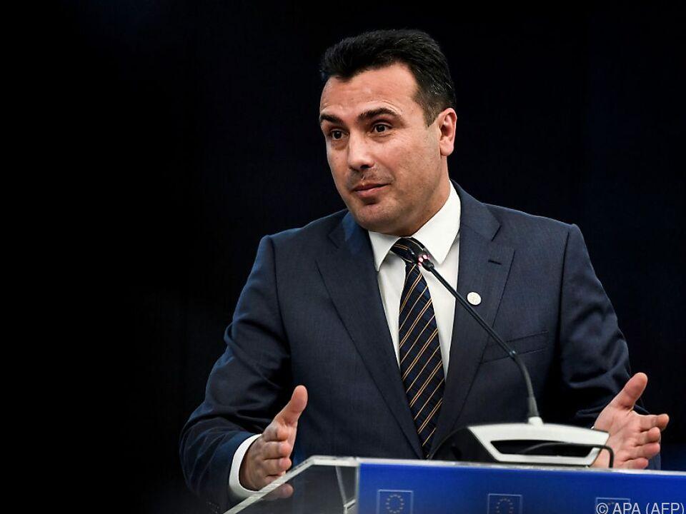 Mazedoniens Präsident sieht eine Lösung im jahrelangen Namensstreit