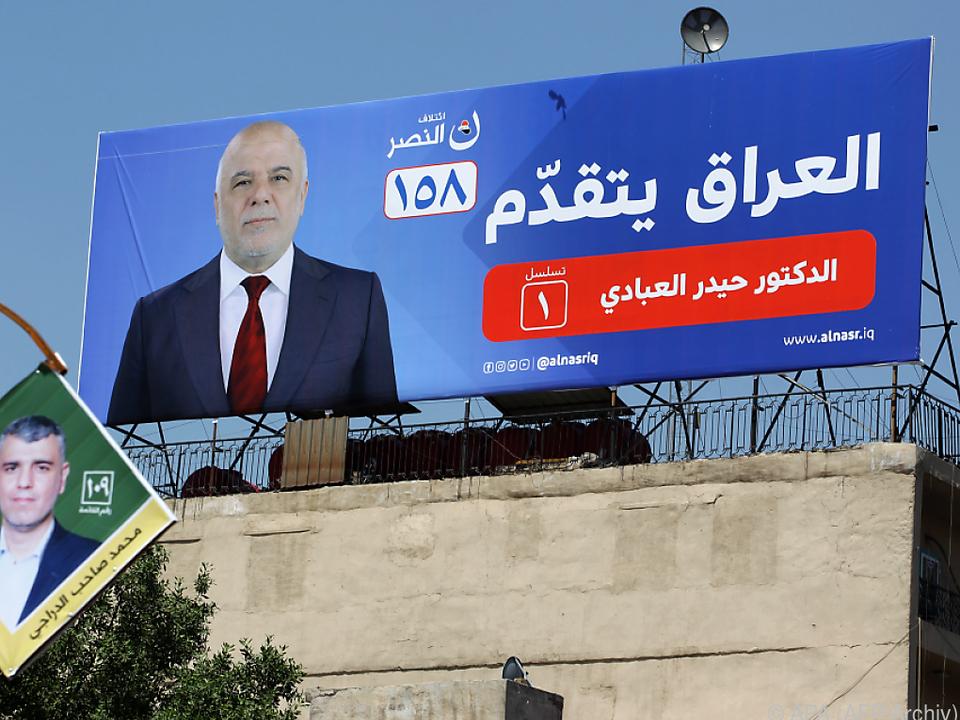 Mehr als 24 Millionen Iraker sind wahlberechtigt