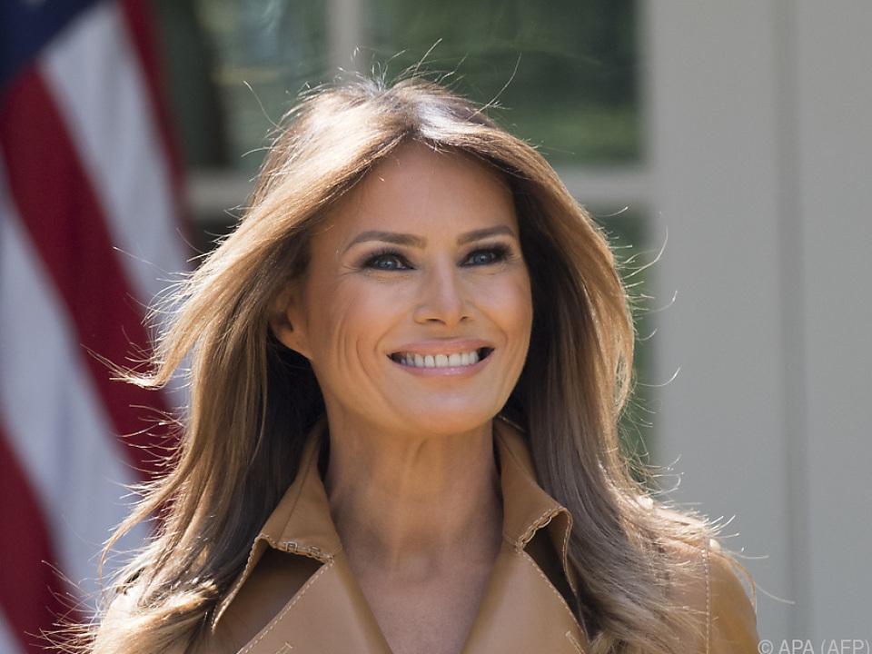 Melania Trump soll sich im Weißen Haus befinden