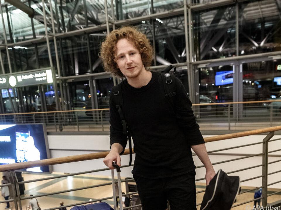 Michael Schulte ist wieder zurück in seiner Heimat