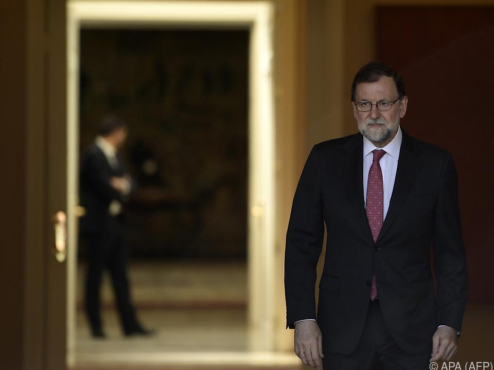 Ministerpräsident Rajoy ist kritisch gegenüber Quim Torra