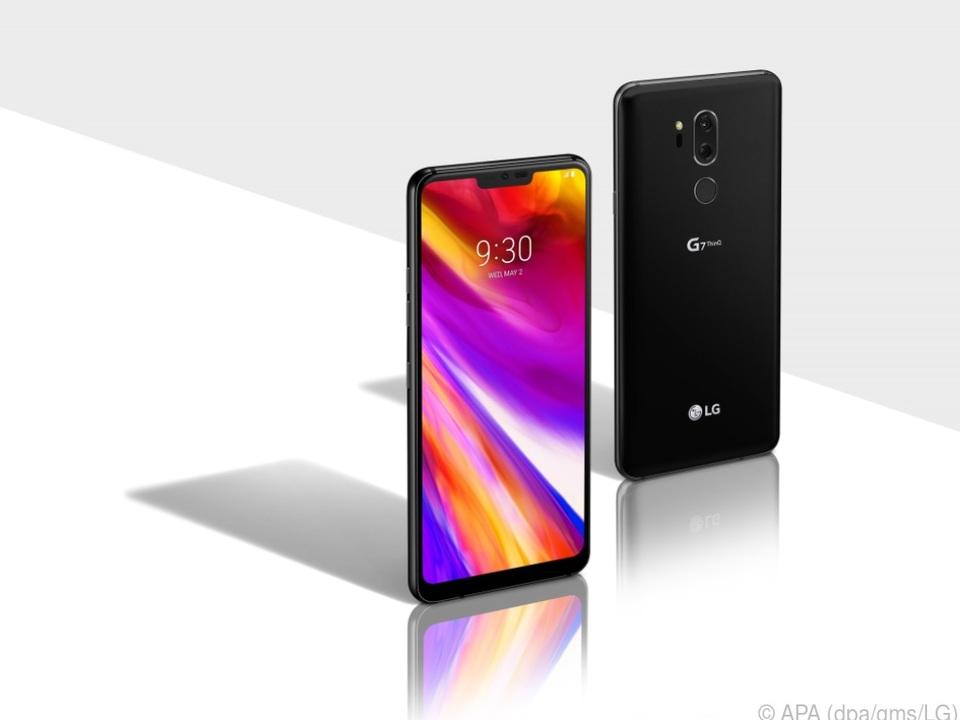 Mit dem G7 ThinQ tritt LG gegen die Konkurrenz von Samsung und Co an