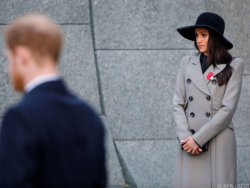 Modern, aber von zeitloser Eleganz - Meghans Stil ist gefällig