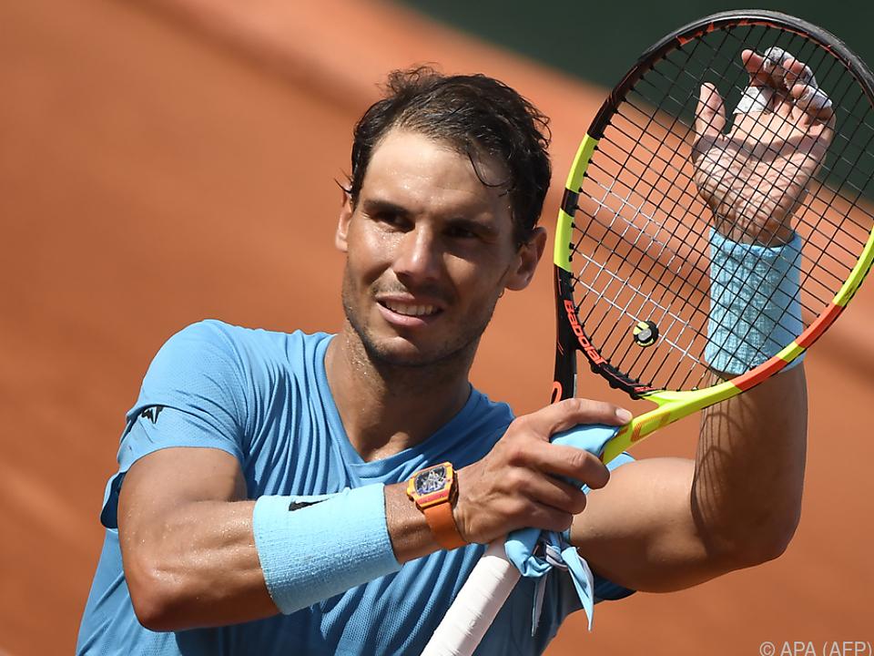 Nadal muss nun gegen einen guten Freund spielen
