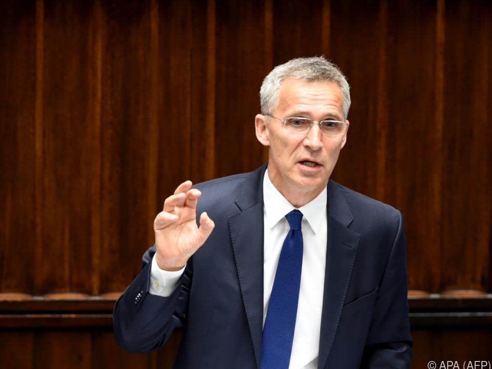 NATO-Generalsekretär Stoltenberg traf Botschafter