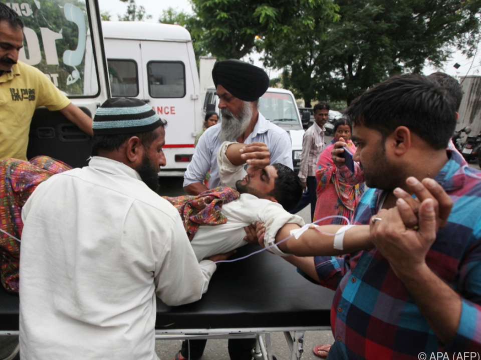 Neben neun Toten sind auch mindestens 22 Verletzte zu beklagen