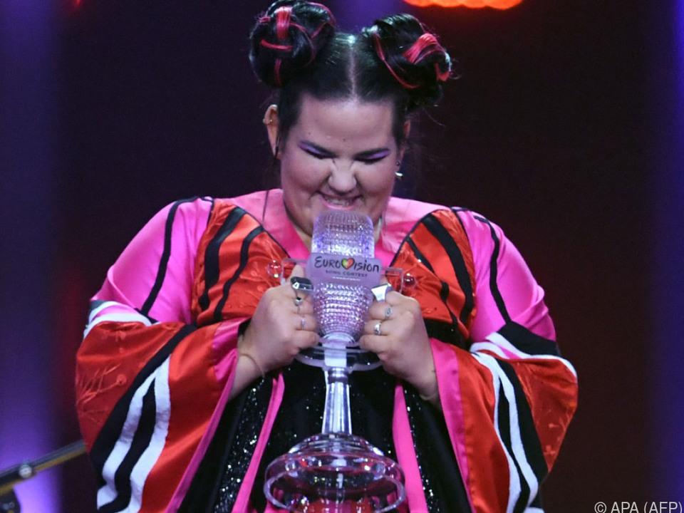 Netta holte den vierten ESC-Sieg für Israel