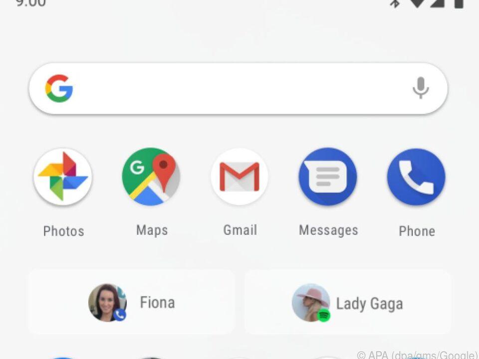 Neu in Android P sind die sogenannten App-Aktionen