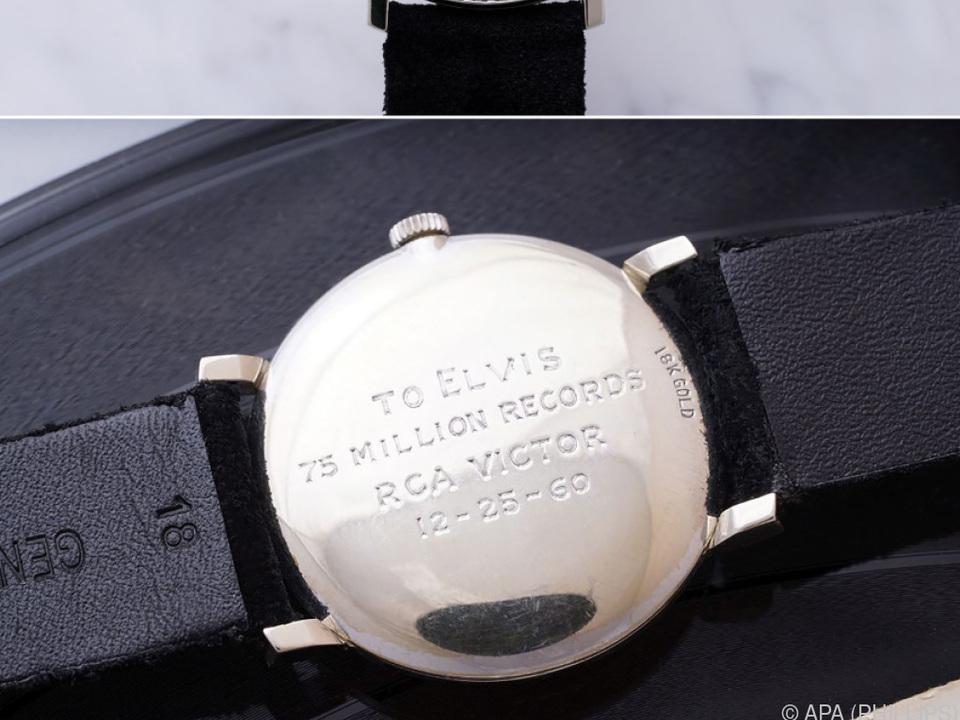 Neuer Eigentümer der Presley-Uhr ist das Omega Museum Biel