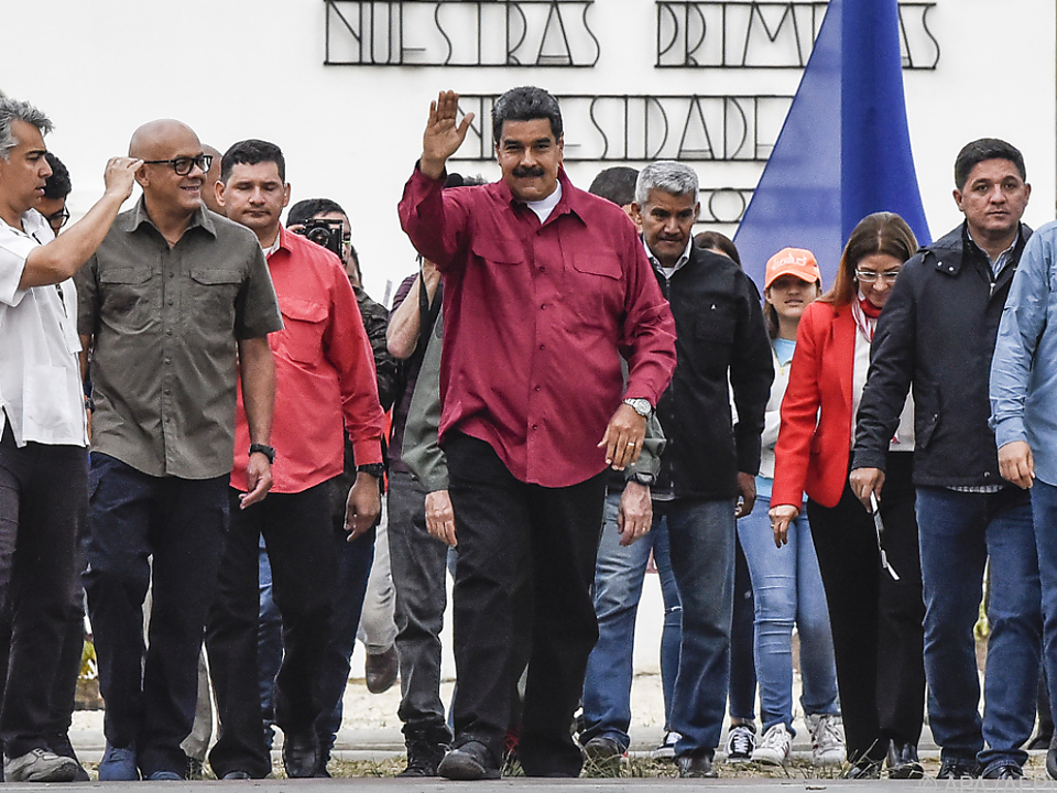 Nicolas Maduro hofft auf Wiederwahl